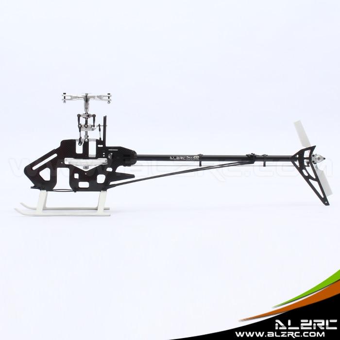 ALZRC - Devil 450 Pro V2 FBL KIT - Silver (Without Canopy & Blade) alzrc 450 helicopter devil 450 pro v2 fbl kit silver