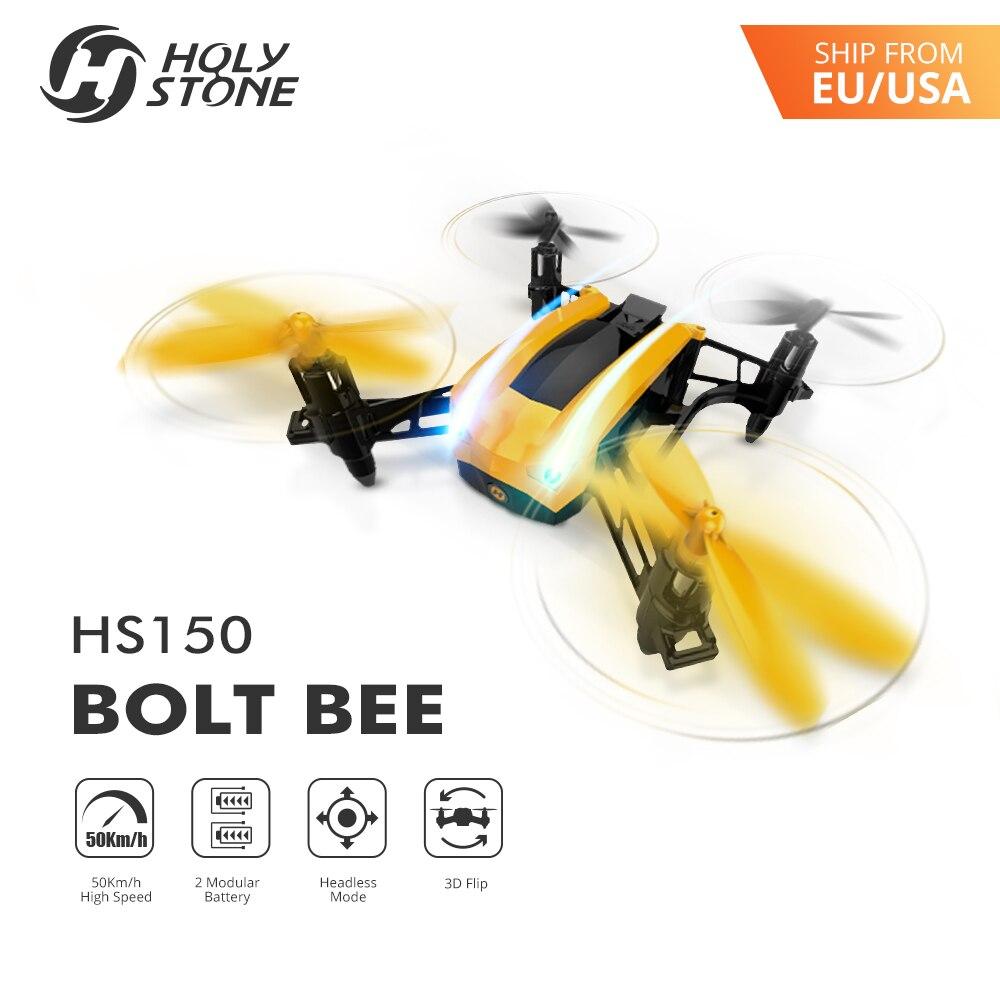 Holy Stone HS150 Bolt Bee Mini Racing Drone RC Quadcopter RTF 2.4GHz - დისტანციური მართვის სათამაშოები - ფოტო 2