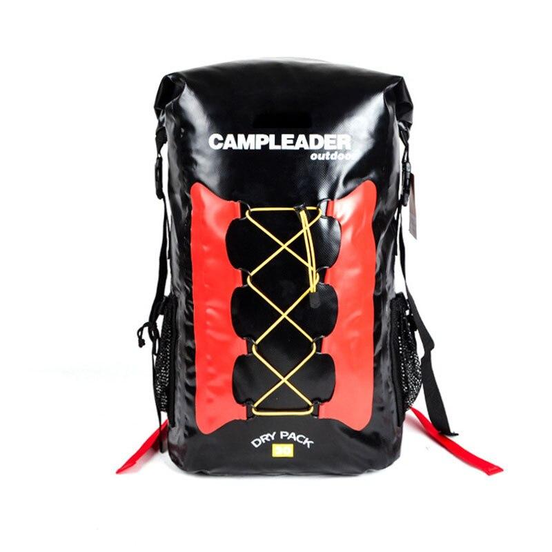 30L Waterproof Dry Bag Backpack Laptop Bag Roll Top for Outdoor Trekking Hiking Water Sports Kayaking Camping Fishing Boating