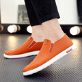 2017 New Breathable Slip On Mens Flat Loafers Comfortable Zapatillas Hombre Pu Leather Driving Shoes For Men Casual Shoes O2299