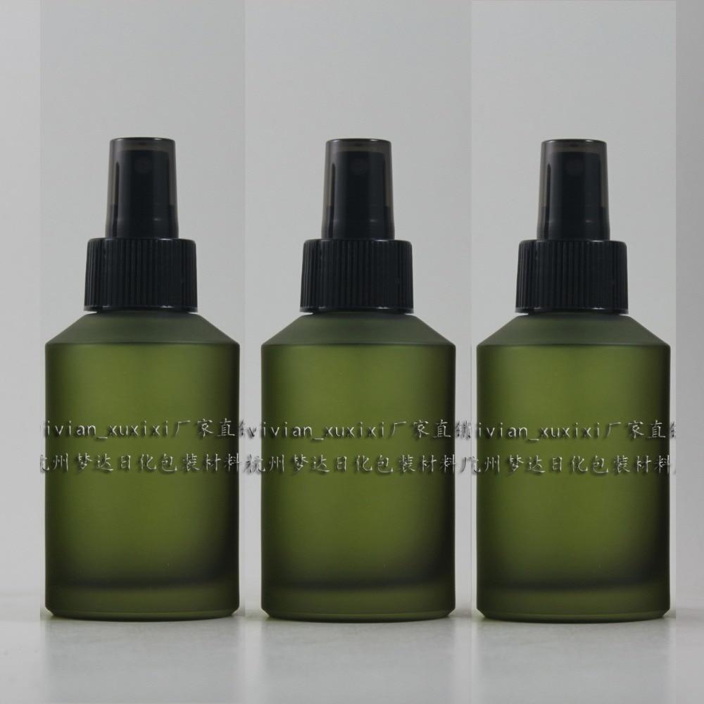125 ml rotundă de lumină verde închisă de călătorie sticlă de - Instrumente pentru îngrijirea pielii