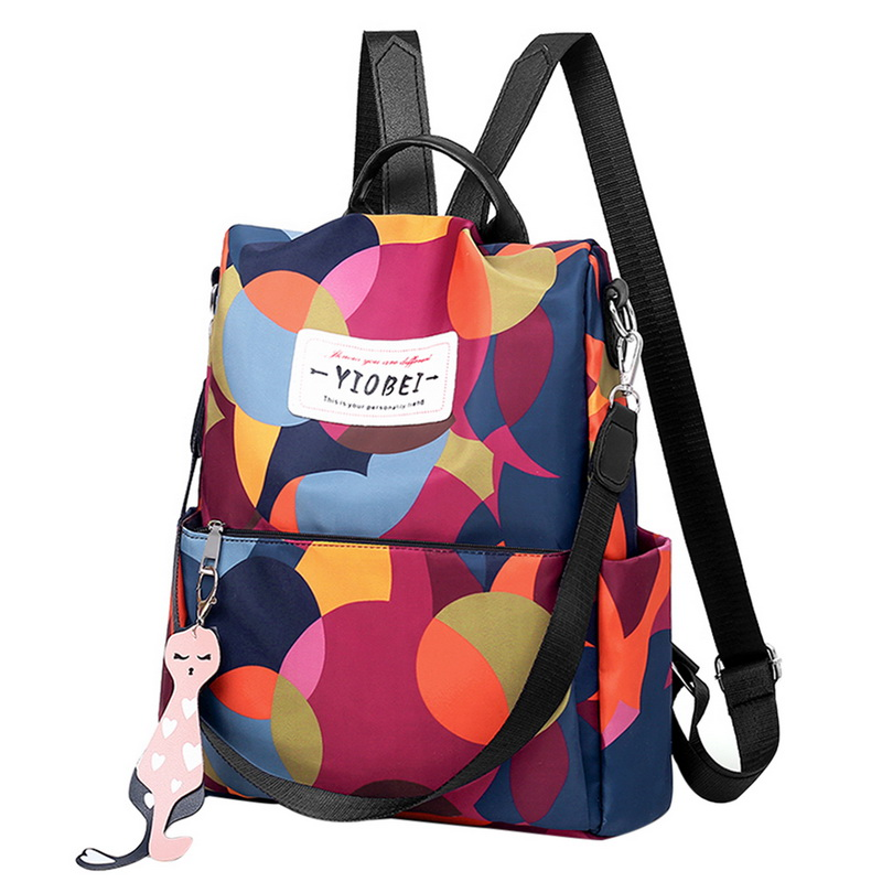 Waterproof Backpack Women Oxford Multifuction Bagpack Casual Anti Theft Backpack Teenager Girls Schoolbag 2019 Sac A Dos Mochila