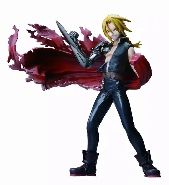 Fullmetal Alchemist Edward Elric Pvc Action Figure Toy Megahouse GEM Fullmetal Alchemist Anime Edward Alphonse Elric Figurine