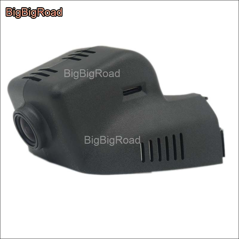 BigBigRoad For Cadillac ATS ATS-L ATSL 2014 2015 2016 2017 Car wifi DVR Video Recorder Novatek 96655 Car black box dash cam