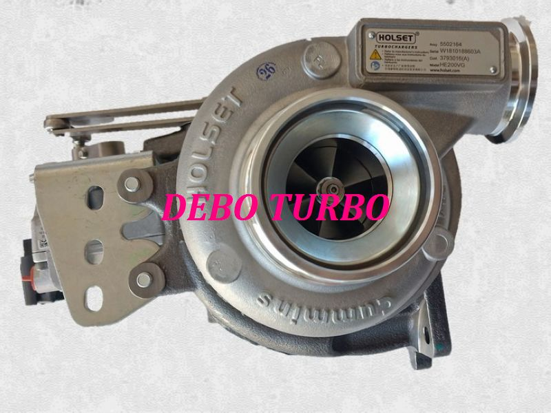 NEW GENUINE HE200VG 5502164 3793016 5353170 5350968 Turbo Turbocharger for FOTON AUMRK CUMMINS ISF2.8 2.8L 87KW Euro V Diesel|Turbo Chargers & Parts| |  - title=