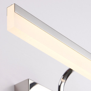 Image 5 - Stainless Led Mirror Light 40/50CM Bathroom Cosmetic Wall Lamp Indoor washroom Cabinet sconce lighting Waterproof Decoration
