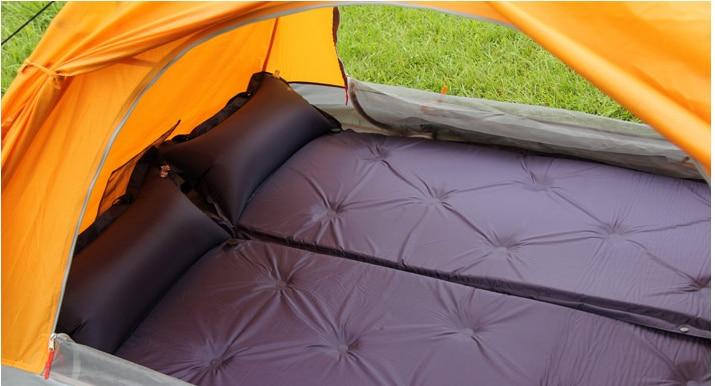 Self Inflating Matras : Outdoor automatic inflatable picnic camping mat air bed matress