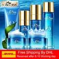 Korea Pflegende serie Hautpflege Set Reiniger Toner Essenz Reparatur milch Rehydrierung creme Concealer Feuchtigkeits Bleaching