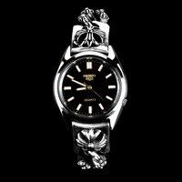 Прямая продажа с фабрики S925 стерлингового серебра высокого класса мужские часы крест трехмерных тайский серебряный браслет кварцевые часы