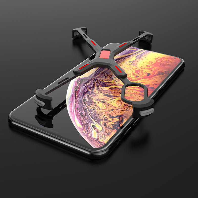 Marvel Element For iPhone XS MAX Case Ultra Thin Anti drop Air Cushion Aluminum Metal Bumper