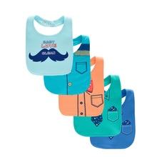 ФОТО  a lot Baby Bibs Babador Bibs Dress Shape Cotton Burp Cloth  for  born Baby Infant Saliva Towels Baby Boy Bib