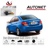 JiaYiTian Rear Camera For Chevrolet Sail 2010 2011 2012 2013 2014 2015 2016 2017 2018 CCD backup camera license plate Camera
