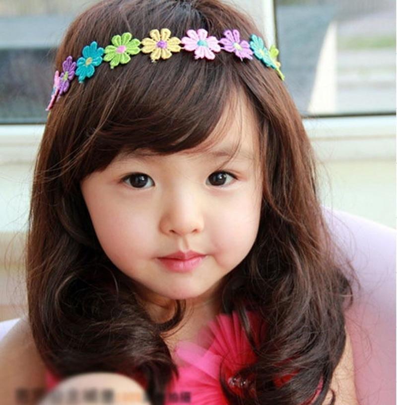 Cute Baby Girls Wigs Princess Medium Long Wigs Lovely Wigs For 1 10