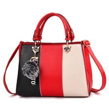 Woman 2018 New Simple Atmosphere Female Handbag Elegant Classic Ladies Wild Shoulder Messenger Bag