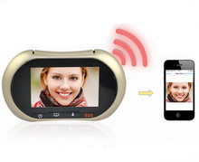 3.7 Inch  WIFI Video Doorbell  Intercom System Peephole Viewer