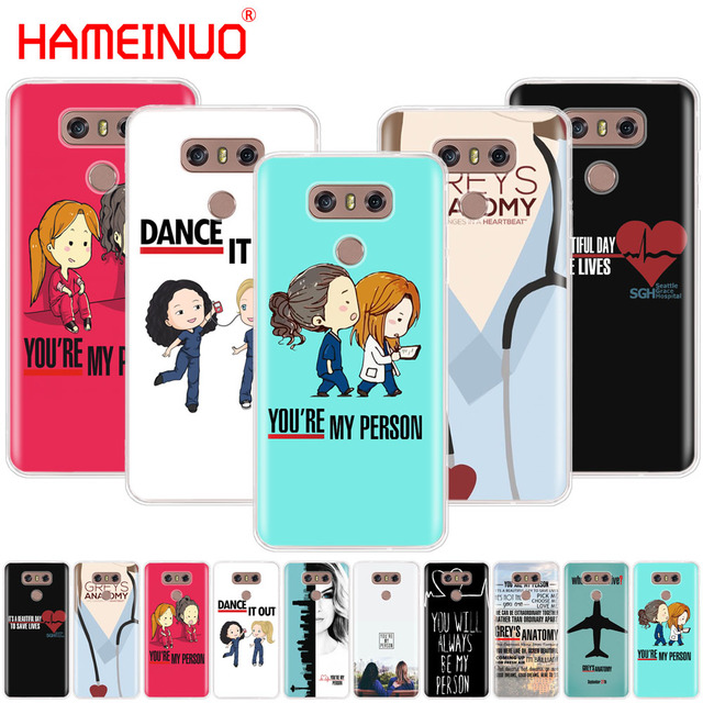 Aliexpress.com : Buy HAMEINUO Greys Anatomy case phone cover for LG ...