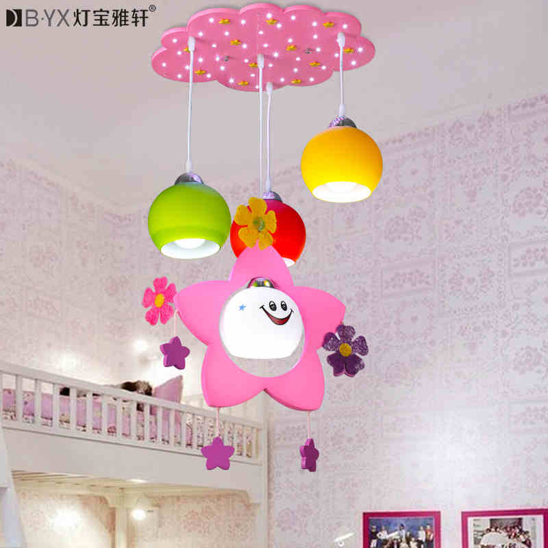 2016 creative cartoon kinderkamer verlichting meisje slaapkamer led hanglamp warme prinses verlichting in 2016 creative cartoon kinderkamer verlichting