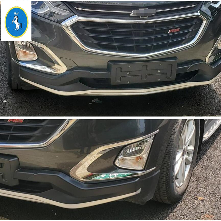 ABS Black paint Front Fog Lights Lamp Eyebrow Cover Trim For 2018 Honda Accord