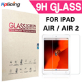 For iPad Air 2 Tempered Glass Screen Protector for Apple iPad Air Toughened Protective Film for Apple iPad Air 2 Retail Package