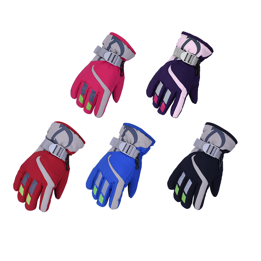 Brilliant Outdoor Windproof Wear-resistant Riding Ski Gloves Mountain Skiing Snowmobile Waterproof Snow Gloves New Arrival Skiing & Snowboarding