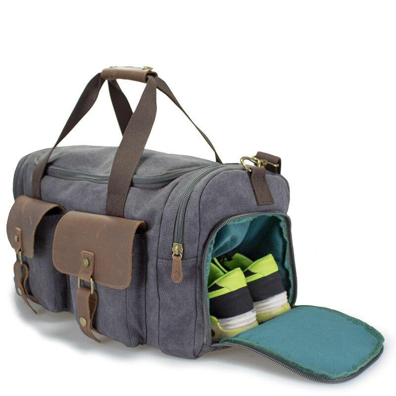 Travel Bags Hand Luggage Bag Women Shoulder Duffle Bag Men Travel Organizer Sac A Main Femme Canvas Weekend Bag Packing Cubes