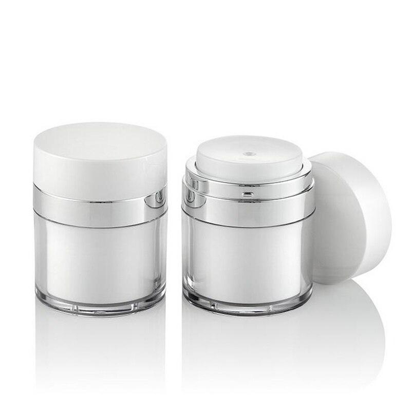 50g Cosmetic Jar Empty Acrylic Cream Cans Vacuum Bottle