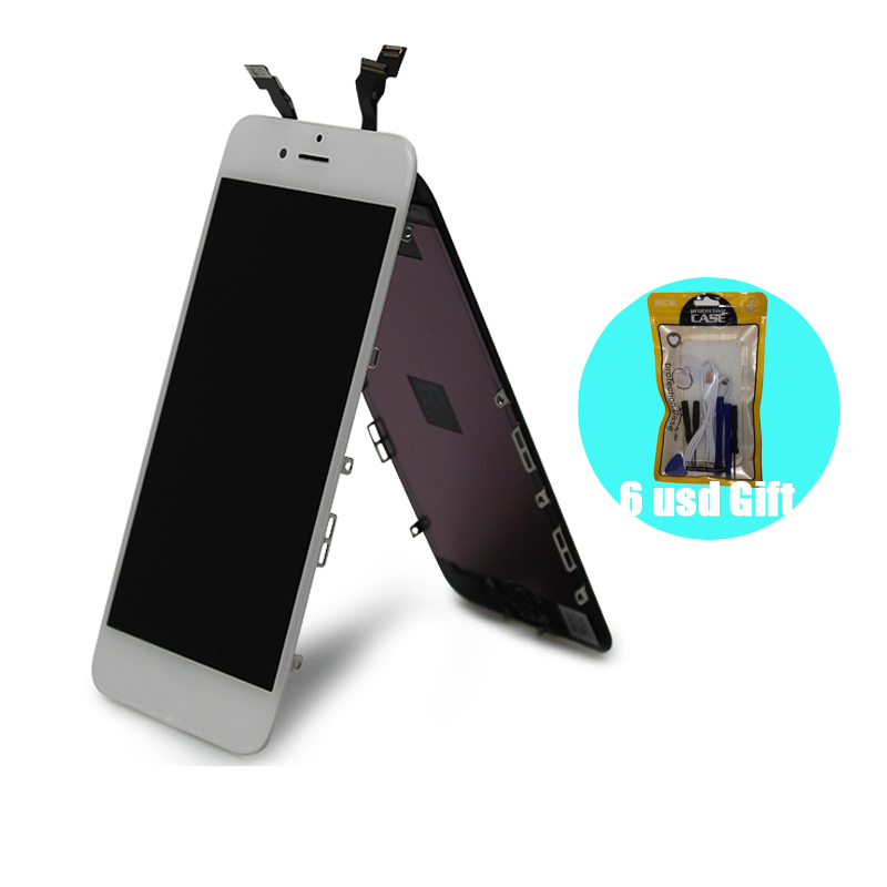 [6 USD GIFT] for <font><b>iPhone</b></font> 6 <font><b>6S</b></font> 7 8 <font><b>Ecran</b></font> Replacement LCD for Apple Display with Pantalla Black White Color for iPhone66S78LCD image
