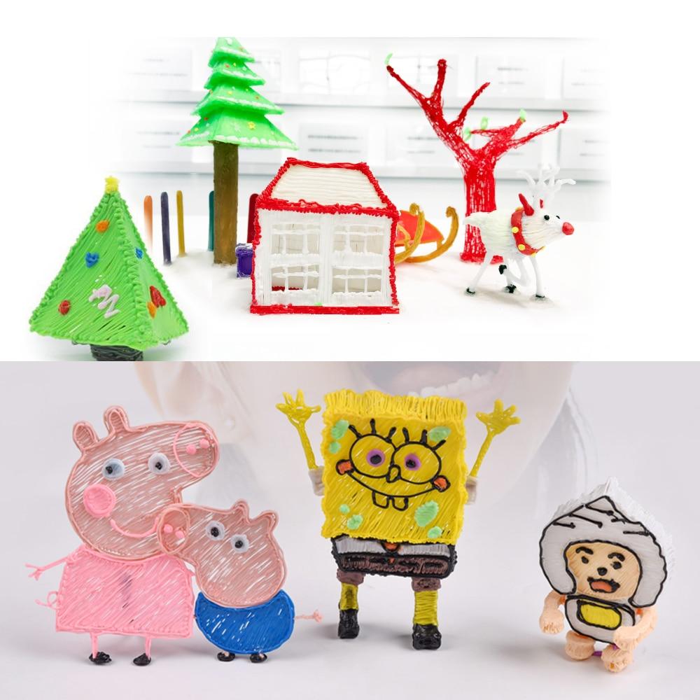 3D enfants dessin jouets pour enfants filles/garçons jouets éducatifs enfant arts et artisanat pour enfants jouets éducatifs fine moteur jouets - 2