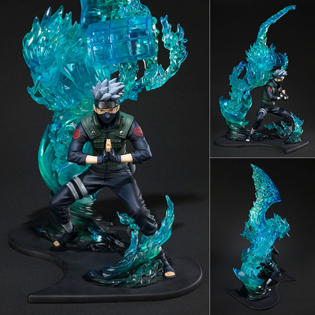 In-Stock Anime Naruto Shippuden PVC Model F.Zero Hatake Kakashi Susanoo Tempestuous God of Valour Action Figure Collection Model