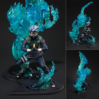 In Stock Anime Naruto Shippuden PVC Model F.Zero Hatake Kakashi Susanoo Tempestuous God of Valour Action Figure Collection Model