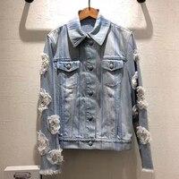 denim jacket women 2018 women long sleeve jacket cotton jacket women spring
