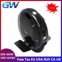 2019 Gotway Nikola Plus Electric unicycle Upgraded version 100V/1845wh motor 2000W,Max 55km/h+,Off-road,adult,lwith handle bar