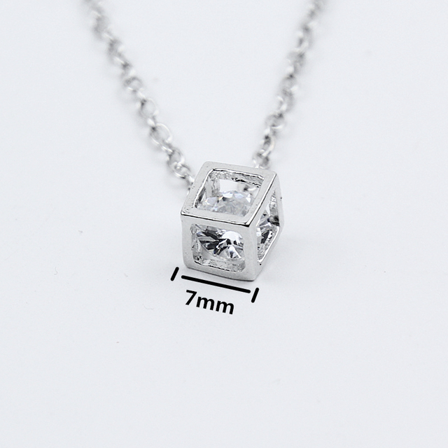Crystal Rhinestone Pendant Necklace For Women  5