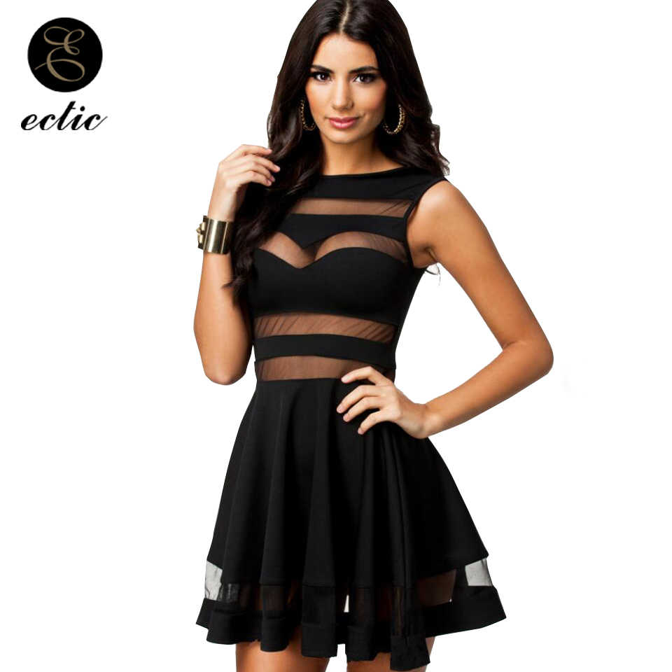 Lace Stitching Dress Women Sukienka Gown Elegant Kleid A Line Mini Sexy  Dresses Party Night Club 1b8bceea1406