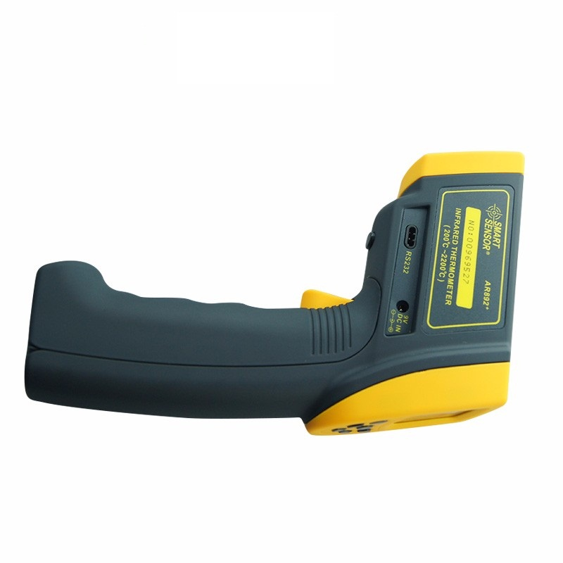 SMART SENSOR AR892+ Infrared Thermometer Professional Industrial Digital Non Contact Pyrometer Gauge 200~2200C (392F~3992F)