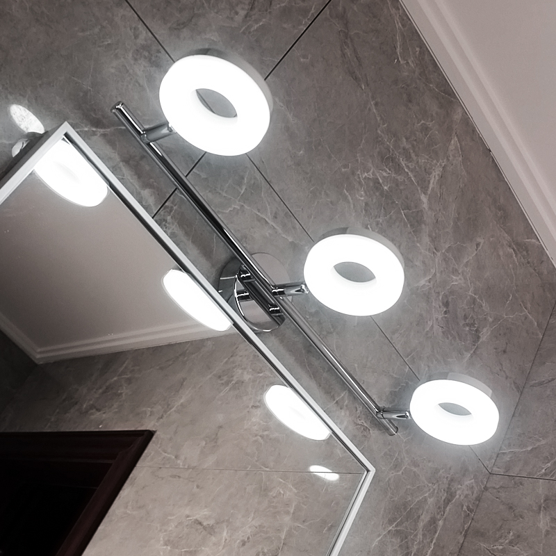 Led Wall Lamp Minimalism Mirror Front Light Bathroom Makeup