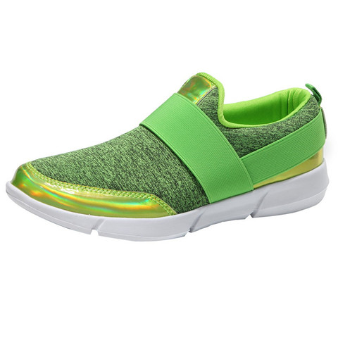 Outdoor Sports Shoes Women Hollow Round Head Flat Breathable Leisure Sports Shockproof Shoes Soft Bottom Running shoes #3J30#F Lahore