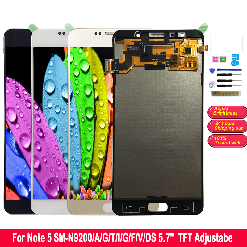 SZMUGUA Note 5  LCD for SAMSUNG Galaxy Note 5 LCD Touch Screen Digitizer Assembly SM-N920 N920C N920A N9200 N920C TFT 5.7SZMUGUA Note 5  LCD for SAMSUNG Galaxy Note 5 LCD Touch Screen Digitizer Assembly SM-N920 N920C N920A N9200 N920C TFT 5.7