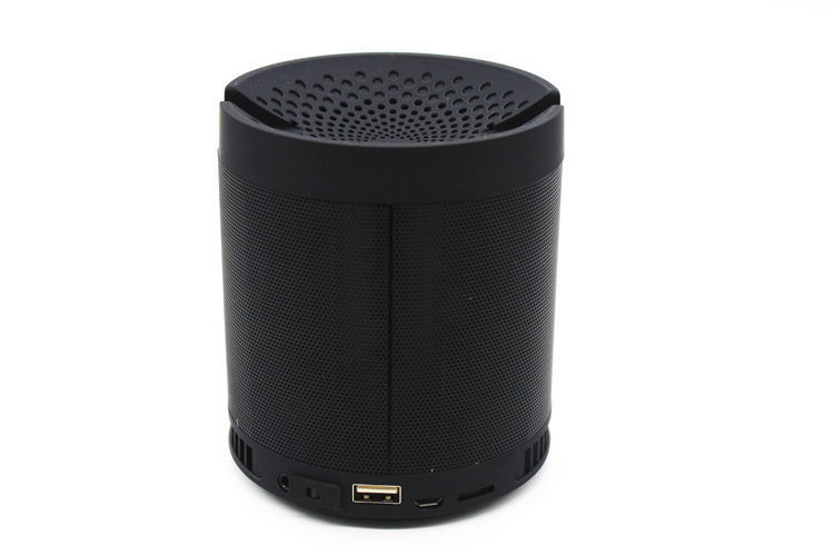 Mini Portable Radio Speaker MP3 Player Music Box Bluetooth 4.0 TF Card Speaker Mobile Phone Holder Speaker With Bass