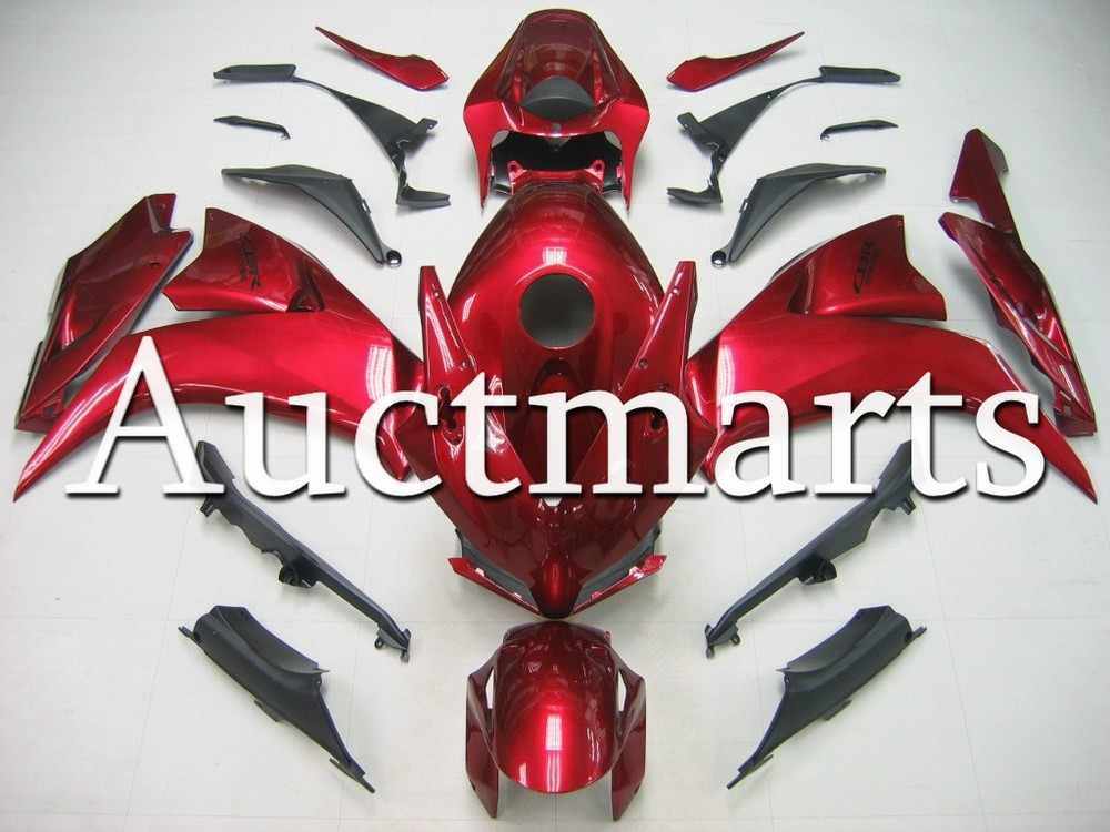 Fit for Honda CBR 1000RR  2012 2013 Injection ABS Plastic motorcycle Fairing Kit CBR1000RR 12 13 CBR 1000 RR CBR1000 RR Red CB25 for honda cbr600rr 2007 2008 2009 2010 2011 2012 motorbike seat cover cbr 600 rr motorcycle red fairing rear sear cowl cover