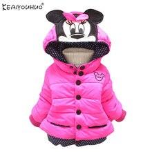 Девочка пальто и куртки дети верхняя одежда хлопка зимнее с капюшоном пальто зимняя куртка дети пальто детская одежда зимняя девушки clothing