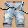 2016 nova verão curto homens calças de brim calções de moda homens roupas grande venda verão novos homens de moda calças curtas