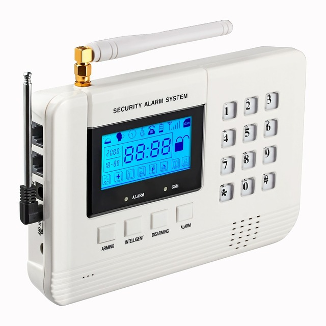 English/Russian/Spanish voice Stable reliable Home Security Alarm System Wireless&wired Dual-Network GSM PSTN Alarm System