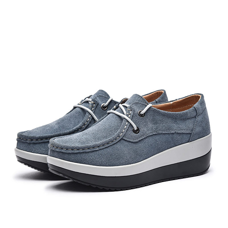 black blue htd6263 Grey Lianes Casual forme black Talons Wedge Mcckle Taille htd6264 Red blue htd6263 La Faux Dames Pour Femmes Plate htd6264 blue htd6264 Des htd6263 Suede red htd6264 Chaussures Plus khaki Lacent Couture htd6263 grey htd6264 w41C7q48p