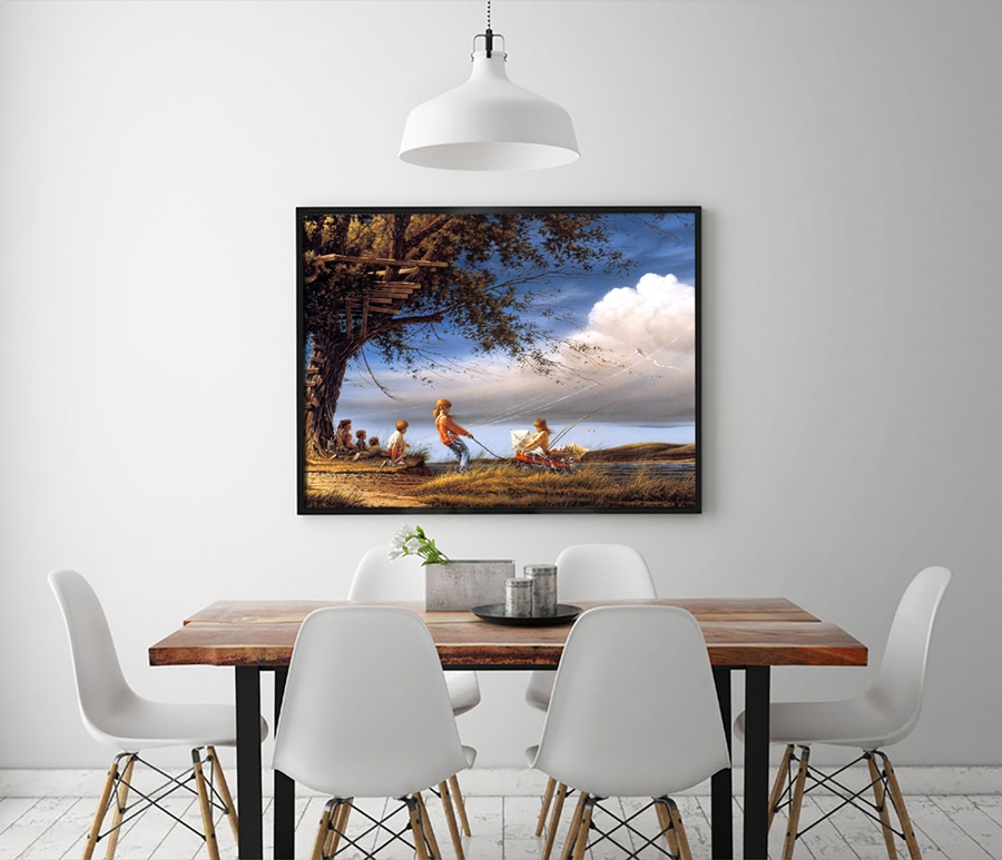 Online Shop 1300 Terry Redlin Artwork Spring Fever Scenery. HD Canvas Print  Home Decoration Living Room Bedroom Wall Pictures Art Painting | Aliexpress  ... Part 97