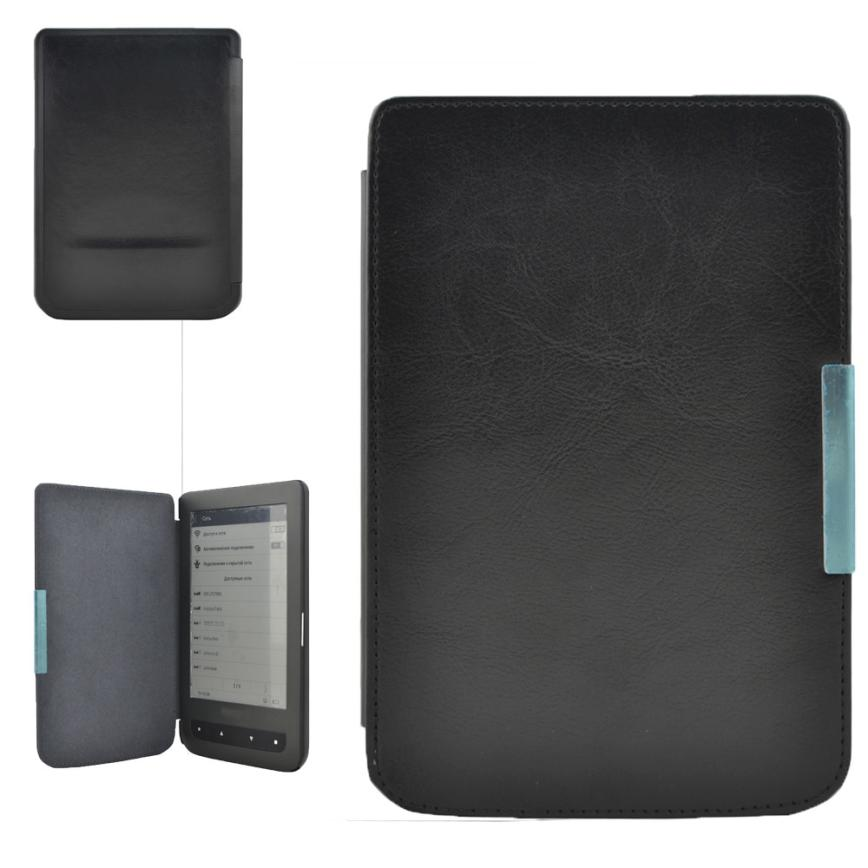 New Folio Flip Crazy Horse Leather Case Cover For Pocketbook614,624,626,640 17Otc13