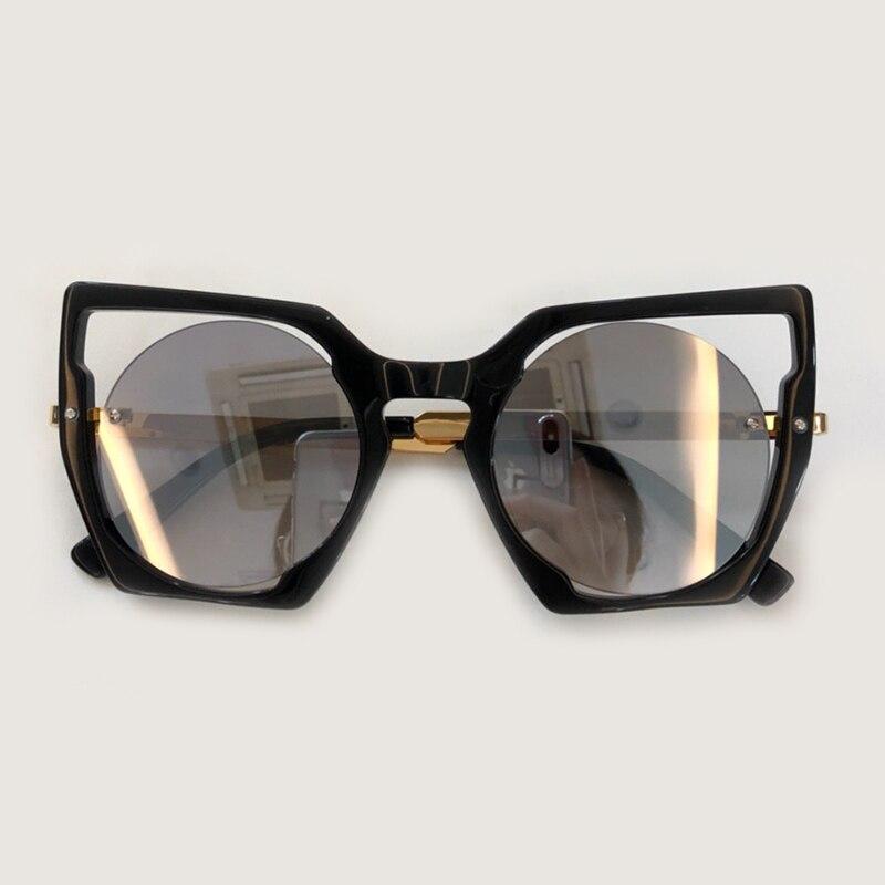 Scatola Cornice no2 Qualità Occhiali Sunglasses Sunglasses La No1 Nuove no3 Hollow Da Sunglasses Sole Alta Grande Lusso Donne Di Moda 2019 no4 Con Arrivo Sunglasses wxqPaH