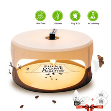 Sticky Flea Killer Trap Lamp Household Non-Toxic Bug Control For Insect Killer Home Using Pet Flea Eliminate Tool