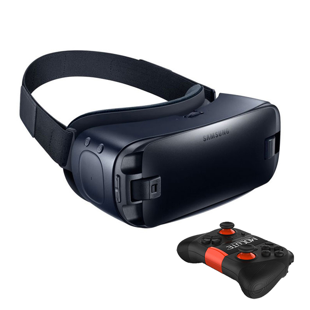 Gear VR 4.0 3D Glasses Built-in Gyro Sensor Virtual Reality Headset for Samsung Galaxy S9 S9Plus S8 S8+ S6 S6 Edge+ S7 S7 Edge 6