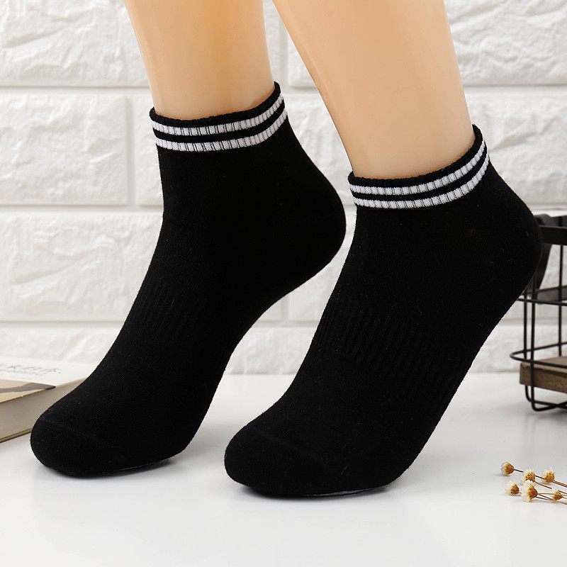 1 Pair Cotton Ankle Socks For Couples Lovers Mens Running Fitness Socks Male Men Sports  ...